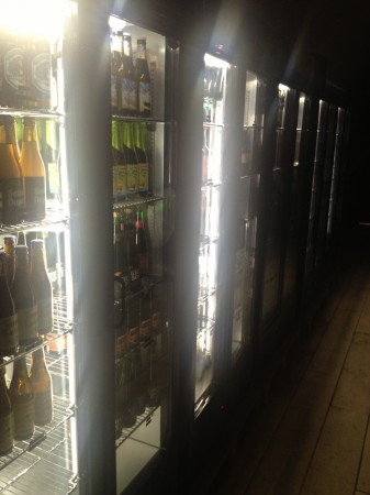 beer fridges, mother Kelly's Bethnal green