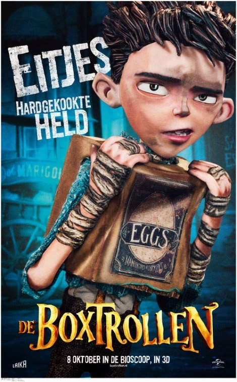 The Boxtrolls Dutch Poster