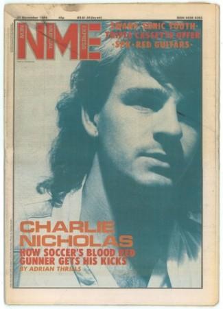 NME charlie nicholas