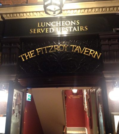 the only bit of the Fitzroy that hasn't changed!