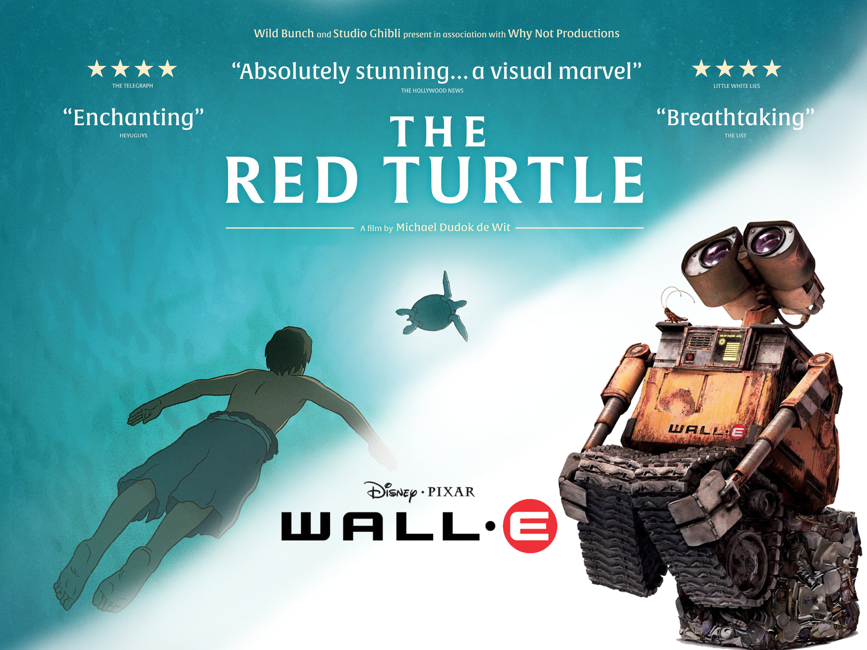 The Sound Barrier Podcast 5 Wall E The Red Turtle Freakytrigger
